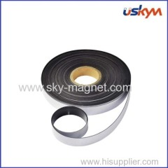 anisotropic rubber magnet with adhesive