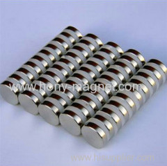 rare earth strong sintered neodymium disc magnet