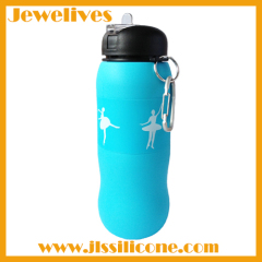 Silicone non slippery water bottle