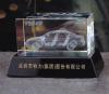 crystal glass car model