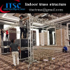 Indoor trusses 4 towers structure