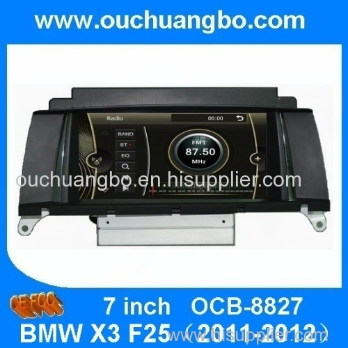 Ouchuangbo Auto Radio Multimedia Stereo For BMW X3 F25