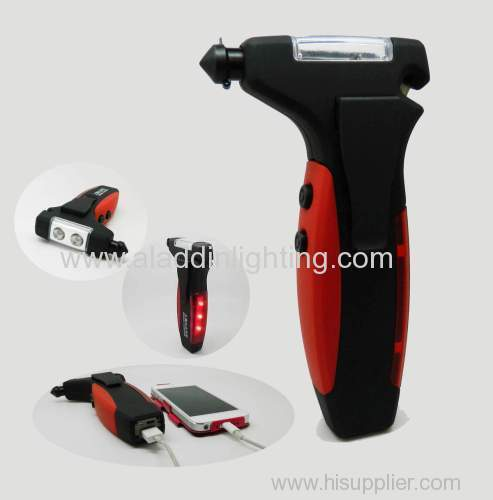 car safety hammer with power bank