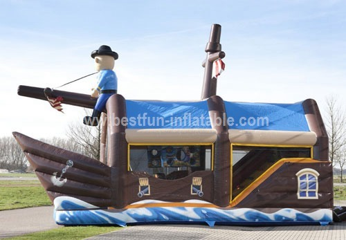 Inflatable Pirate Ship Shooter