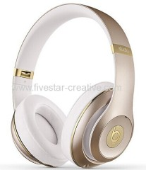 Beats by Dr.Dre Beats Studio 2.0 Wireless Bluetooth Over-the-ear Headphones Gold