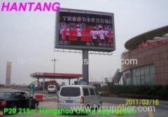 P20 Full Color Operating System Windows 2000 Stadium Outdoor LED Display