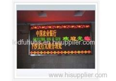 Individual Design Module Size 245*122 mm Three Colors Custom LED Sign