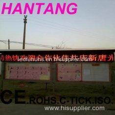 P16 High Brightness Refresh Rate 360Hz Semi Outdoor Single Red Custom LED Sign