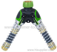 Metal Y Garden Tap Adaptor
