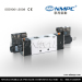 five way double coil solenoid valve
