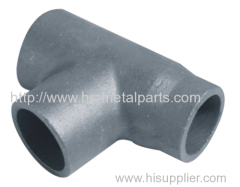 Carbon steel agricultural equipment part tee