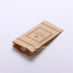 Customizable Side Gusset Kraft Sachet Best Tea Packaging