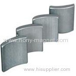 sintered ndfeb arc rotor magnets