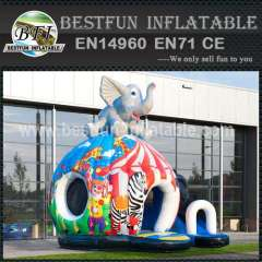 China inflatable bouncy slide