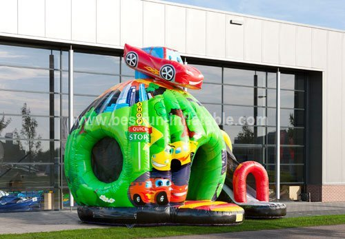 Bouncy castle Disco Fun Car