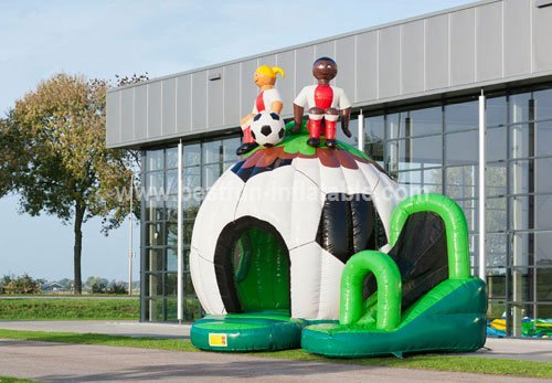 Bouncy castle Disco Fun Football