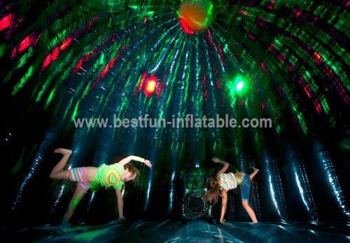 Bouncy castle fun disco 5m