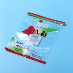 OPP Transparent Plastic 3 Side Seal Pouch for Spice