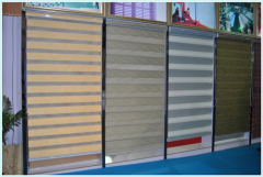 Pleated blind:contain the cordless pleated blind and line control pleated blind