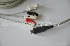 MEK ECG Cable AHA clip