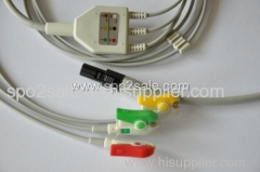 Welch Allyn ECG Cable with IEC clip
