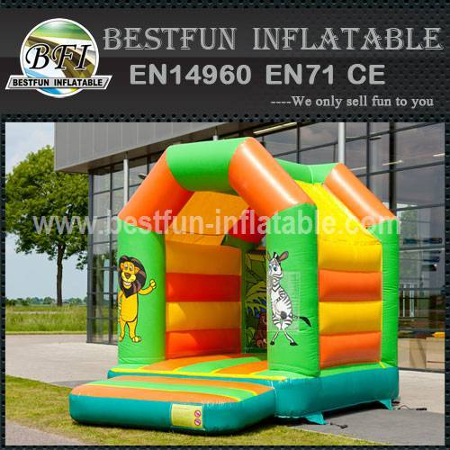 Advertising inflatable bounce house