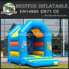 Air balloon inflatable bounce house