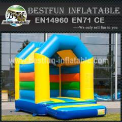 Air blown bounce house