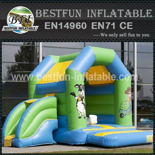 Amusement inflatable bounce house