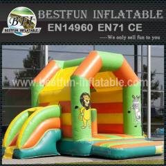 Amusing inflatable bounce house