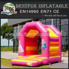 Girl thing inflatable bounce house