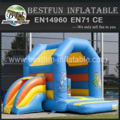 Animal design inflatable bounce house