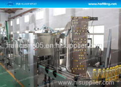 Plastic PET / Glass Bottle Oil Filling Machine and Capping Machine 2 In 1