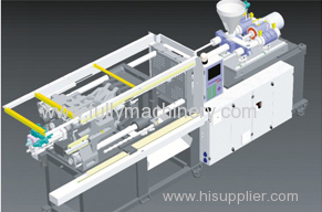 260 ton thin wall high speed injection molding machine