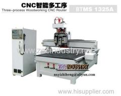 CNC Engraving Machine / CNC Router - Three-Precess Wookworking Router