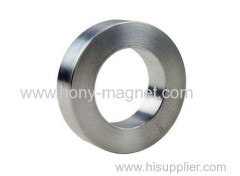 Ni coating ndfeb ring magnets