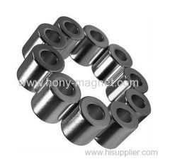 Rare earth strong neodymium ring magnet