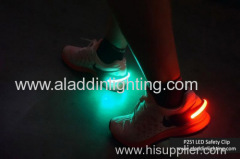 LED salfety sports shoe clip light