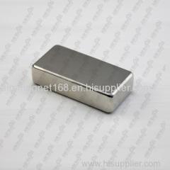 Strong block neodymium magnet for furniture
