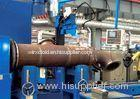 Tube Flange MIG / MAG / CO Automated Welding Machines For Tube Intersection Line