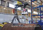 Plasma Intersection Line Mechanical Saddle Hole Cutting Machine Orthogonal / Deviation