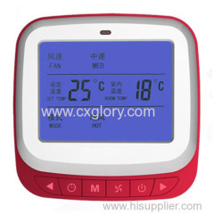 LCD Intelligent Fu Thermostat