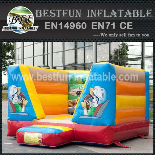 Beautiful cute inflatable bounce house