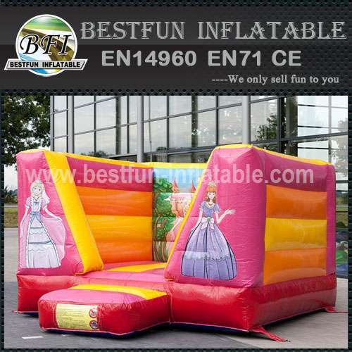 Balloon inflatable bounce house