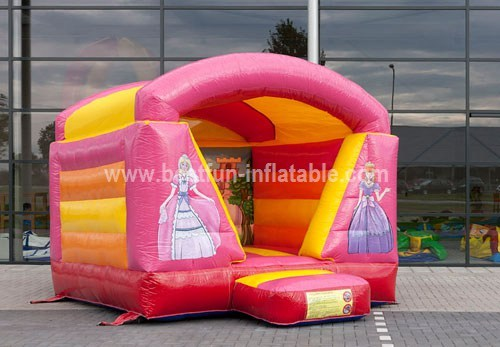 Mini princess bouncer with roof