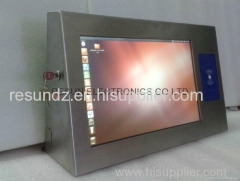 Stainless Steel Industrial Touch Screen Panel PC with RFID