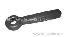 Hot drop forging/ sand casting/ investment casting parts towing eye for truck and trailer