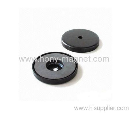 Bonded permanent micro motor magnet