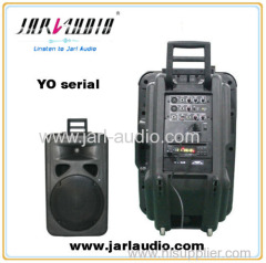 Pro plastic speakers with DVD player/ pro stage audio/outdoor speaker