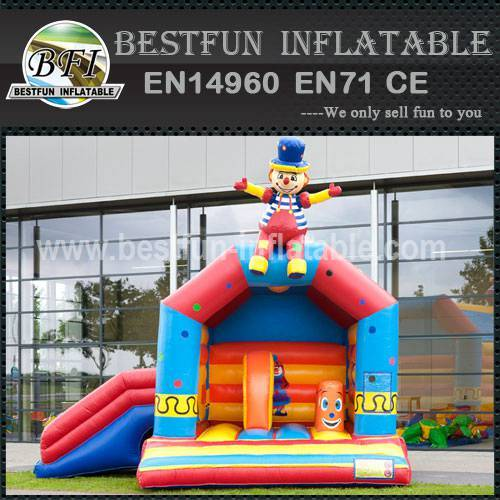 Commercial inflatable bouncy slide